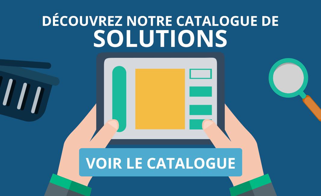 Découvrez notre catalogue de solutions - Web - Com' - Print - Marketing