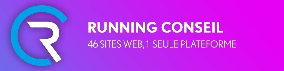 Running Conseil, 46 sites web, 1 seule plateforme !